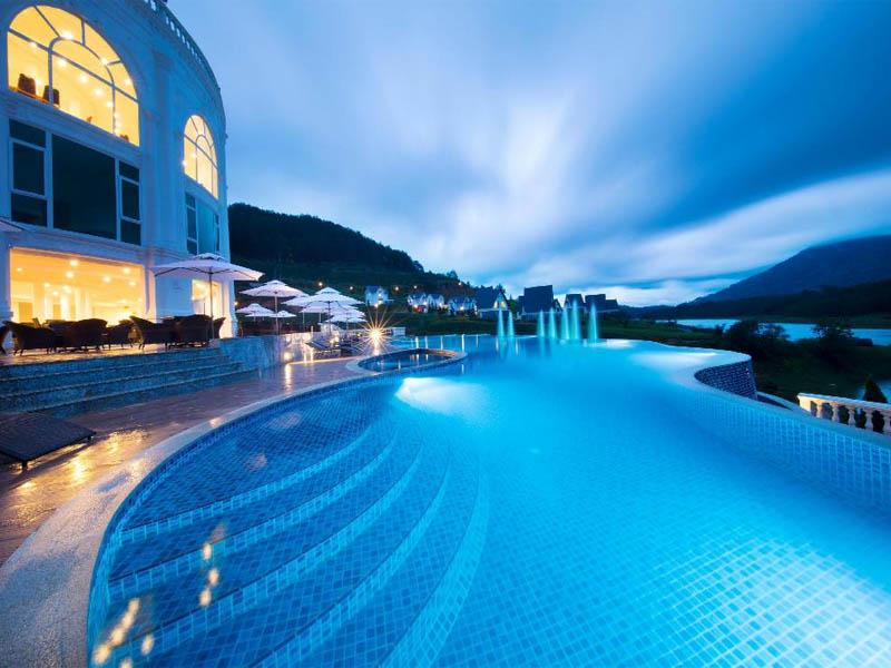 Tổng hợp những hồ bơi Đà Lạt sở hữu view đẹp hút hồn